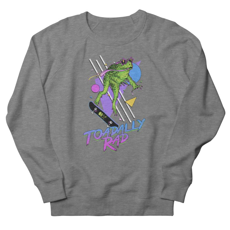 Toadally Rad Women's French Terry Sweatshirt by Hillary White