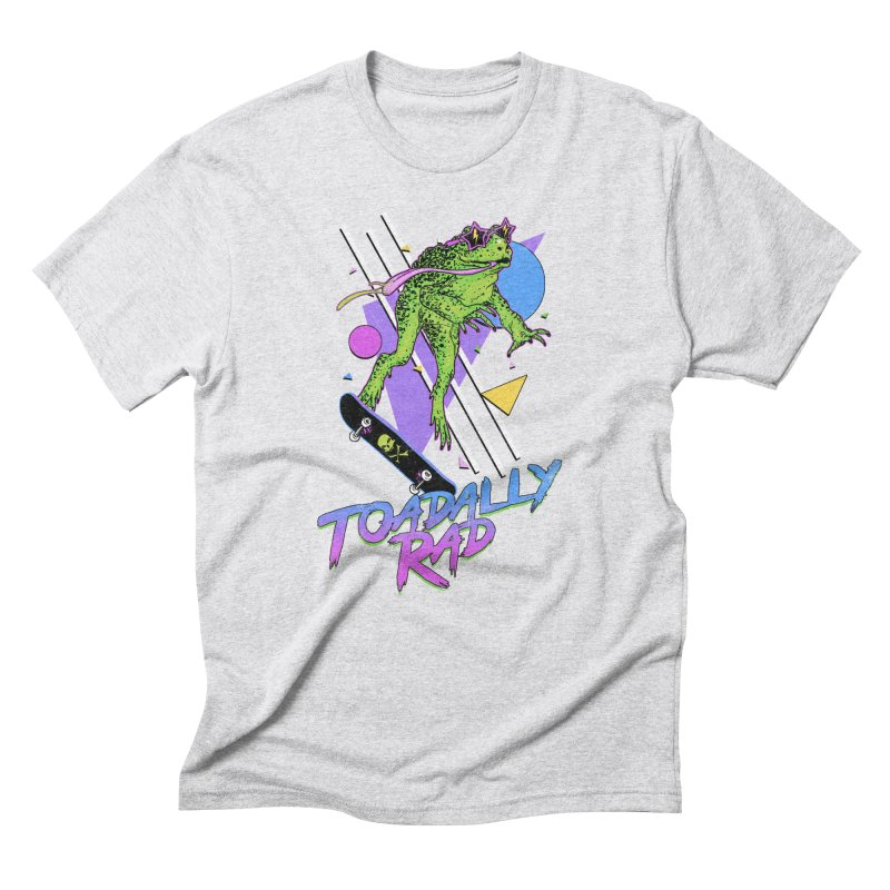 Toadally Rad Men's Triblend T-Shirt by Hillary White