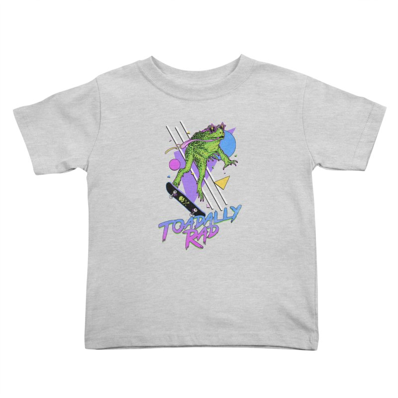 Toadally Rad Kids Toddler T-Shirt by Hillary White