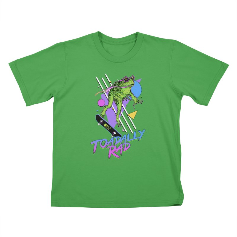 Toadally Rad Kids T-Shirt by Hillary White