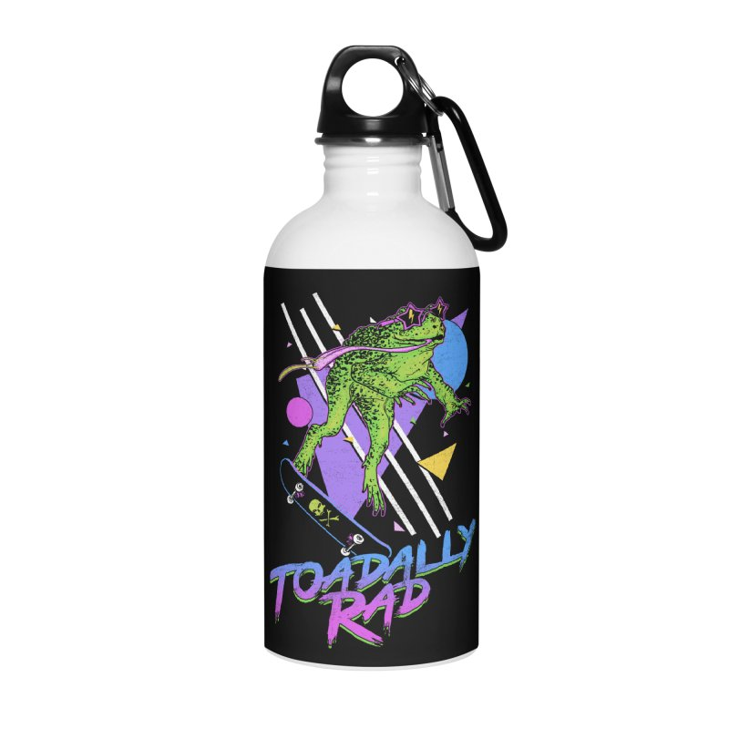 Toadally Rad Accessories Water Bottle by Hillary White