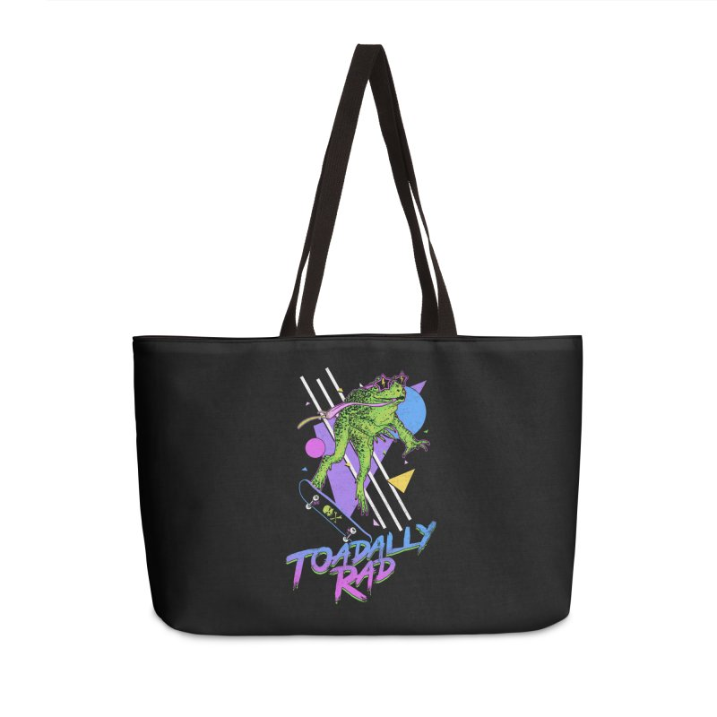 Toadally Rad Accessories Weekender Bag Bag by Hillary White