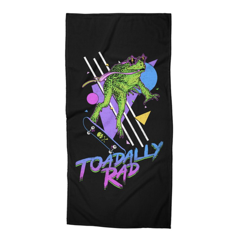 Toadally Rad Accessories Beach Towel by Hillary White