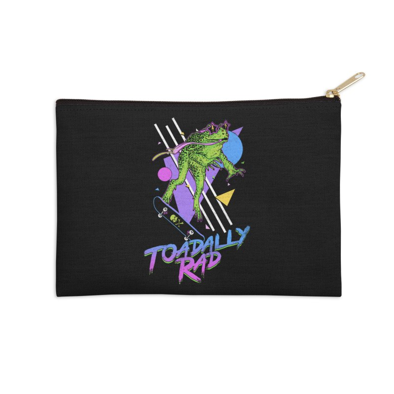 Toadally Rad Accessories Zip Pouch by Hillary White