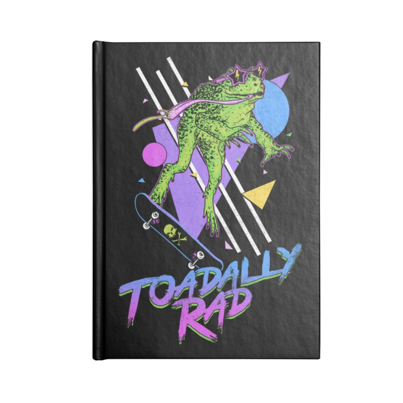 Toadally Rad Accessories Blank Journal Notebook by Hillary White