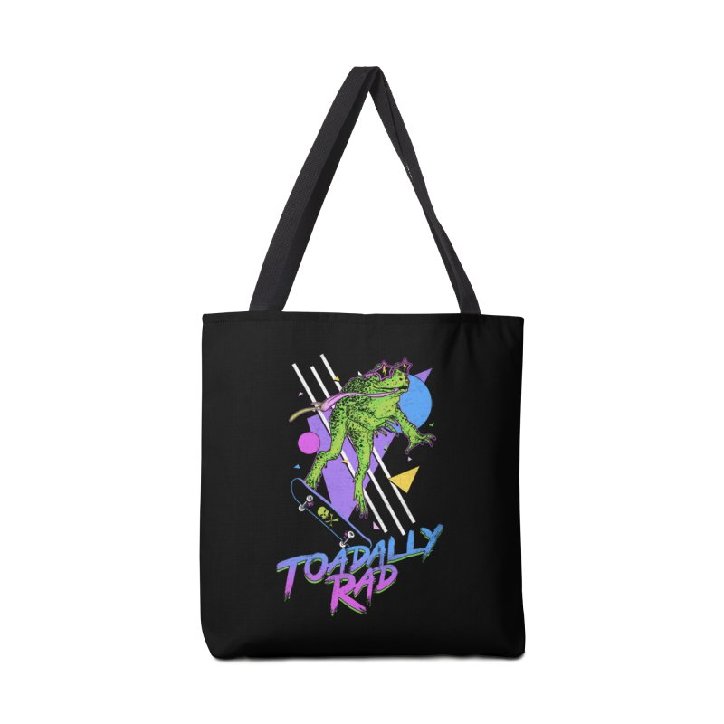Toadally Rad Accessories Tote Bag Bag by Hillary White