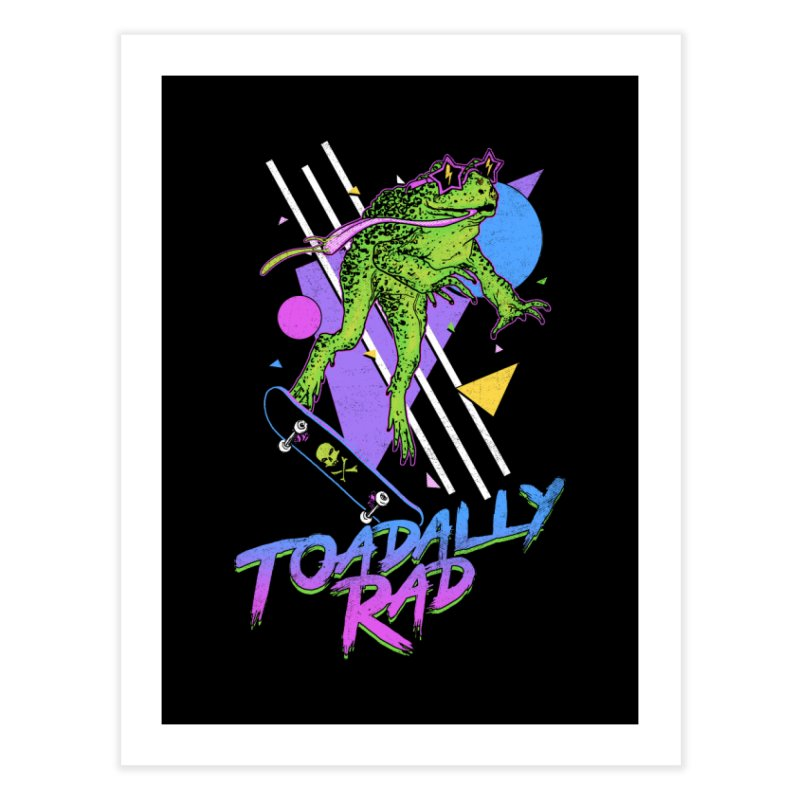 Toadally Rad Home Fine Art Print by Hillary White