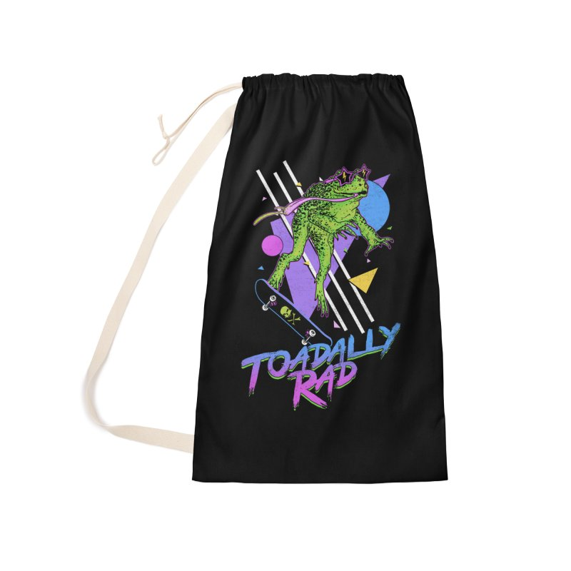Toadally Rad Accessories Laundry Bag Bag by Hillary White