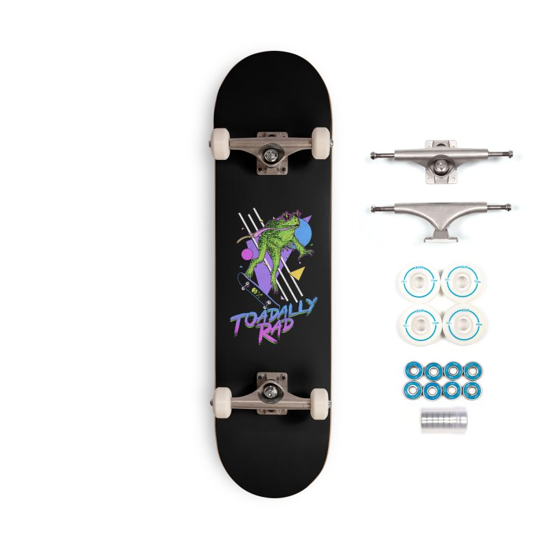Toadally Rad Accessories Complete - Basic Skateboard by Hillary White