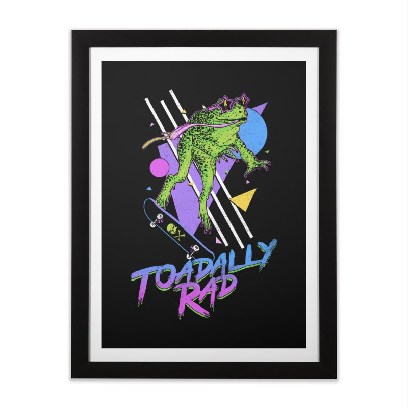 Toadally Rad Home Framed Fine Art Print by Hillary White