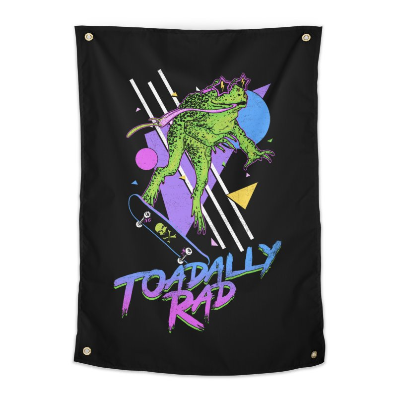 Toadally Rad Home Tapestry by Hillary White