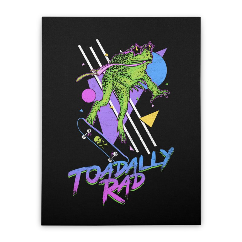 Toadally Rad Home Stretched Canvas by Hillary White