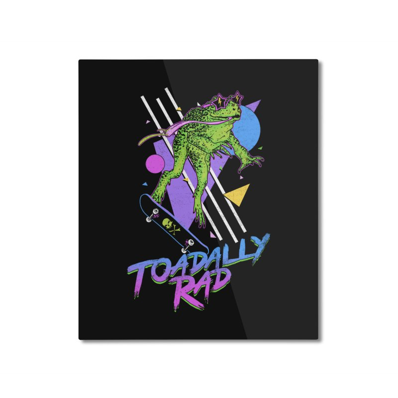 Toadally Rad Home Mounted Aluminum Print by Hillary White