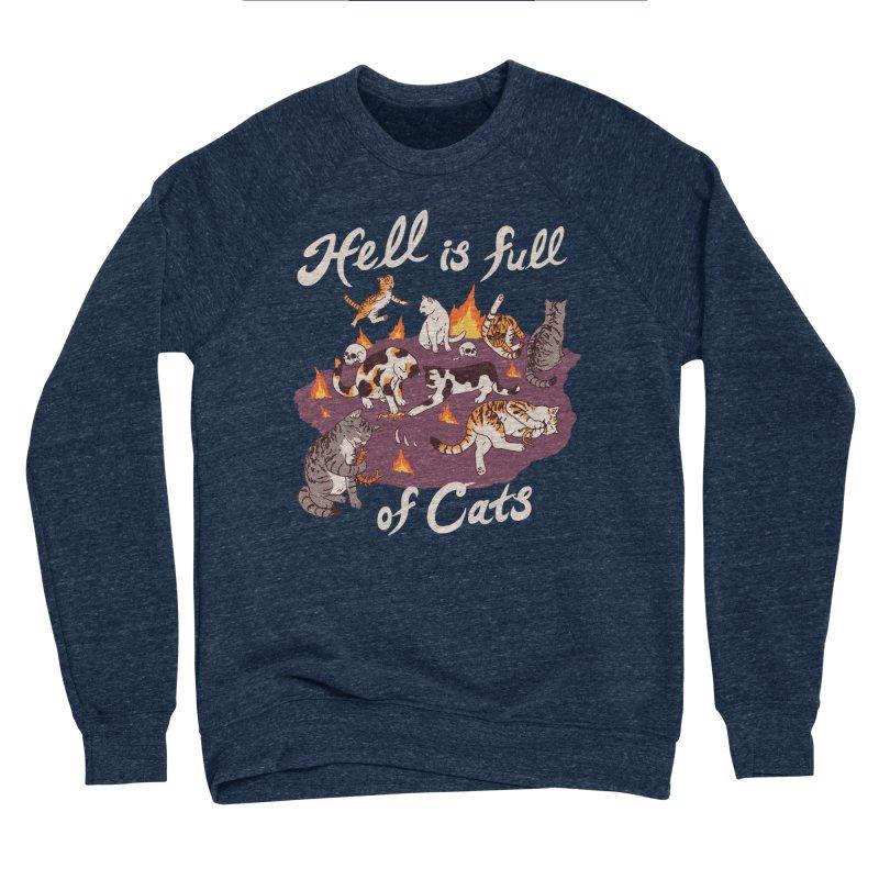 Hell Is Full Of Cats Women's Sponge Fleece Sweatshirt by Hillary White