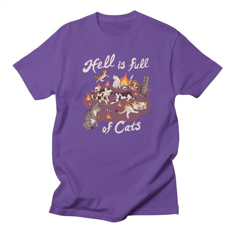 Hell Is Full Of Cats Women's Regular Unisex T-Shirt by Hillary White