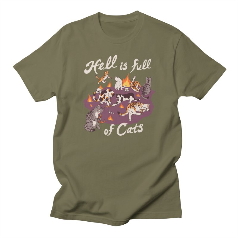 Hell Is Full Of Cats Women's Regular Unisex T-Shirt by Hillary White