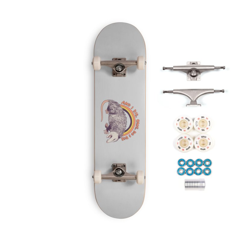 OMG Do I Die Accessories Complete - Premium Skateboard by Hillary White