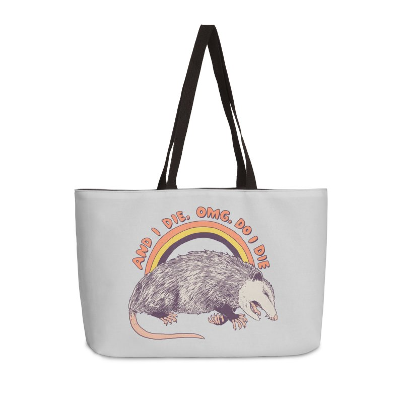 OMG Do I Die Accessories Weekender Bag Bag by Hillary White