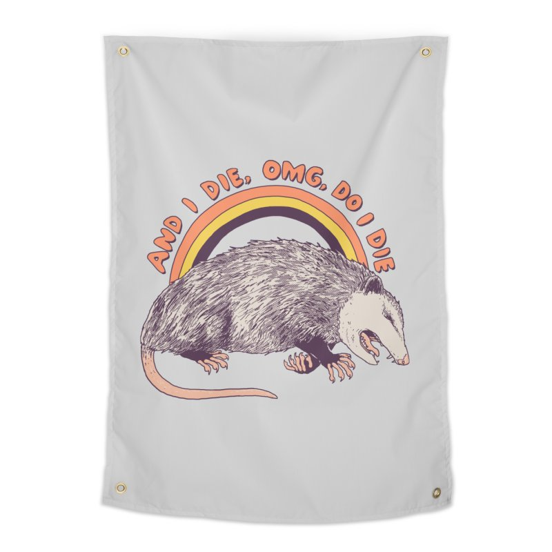 OMG Do I Die Home Tapestry by Hillary White