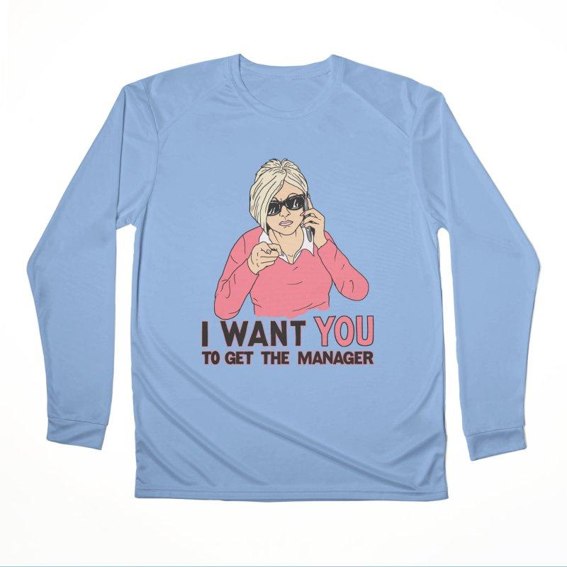 Aunt Karen Women's Performance Unisex Longsleeve T-Shirt by Hillary White