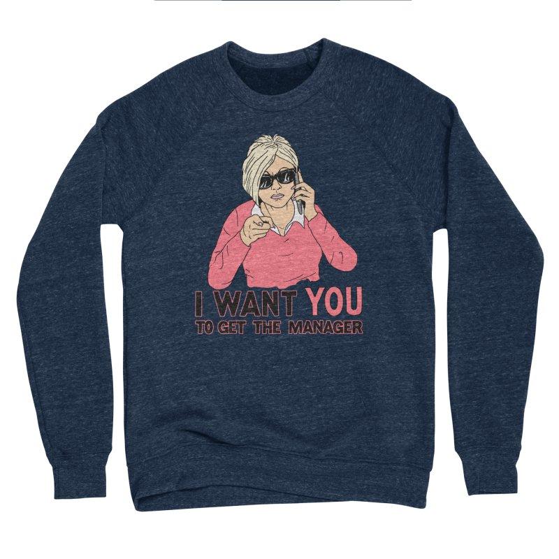 Aunt Karen Women's Sponge Fleece Sweatshirt by Hillary White