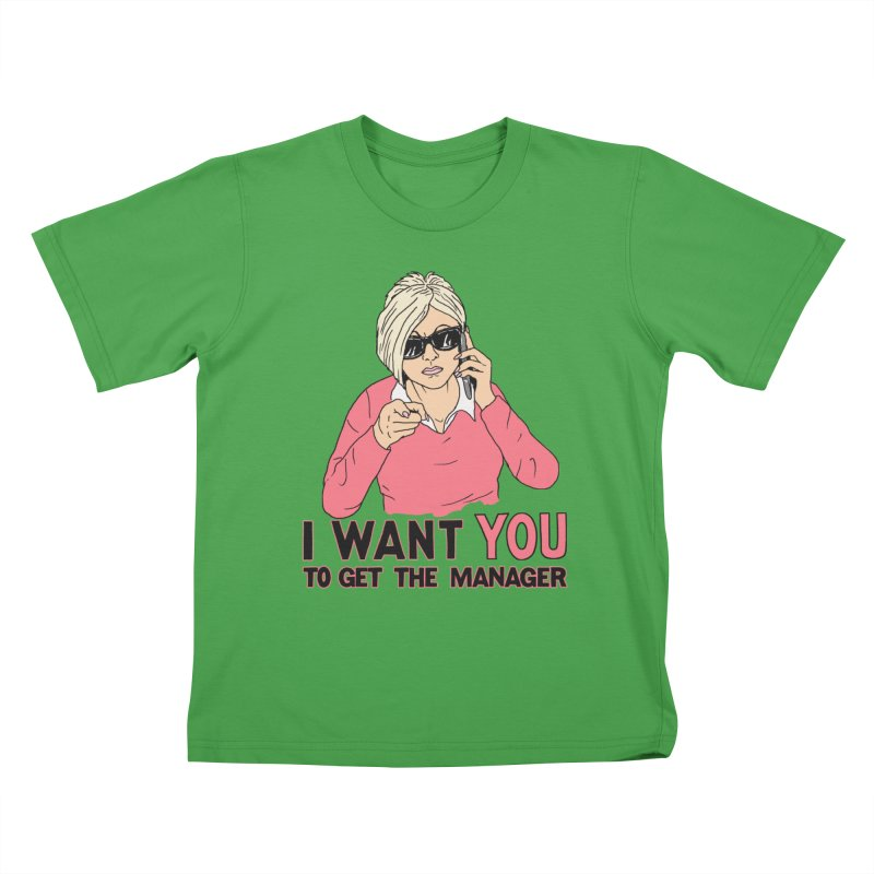 Aunt Karen Kids T-Shirt by Hillary White