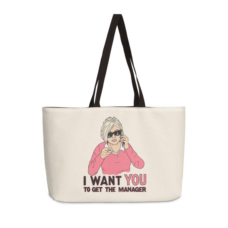 Aunt Karen Accessories Weekender Bag Bag by Hillary White