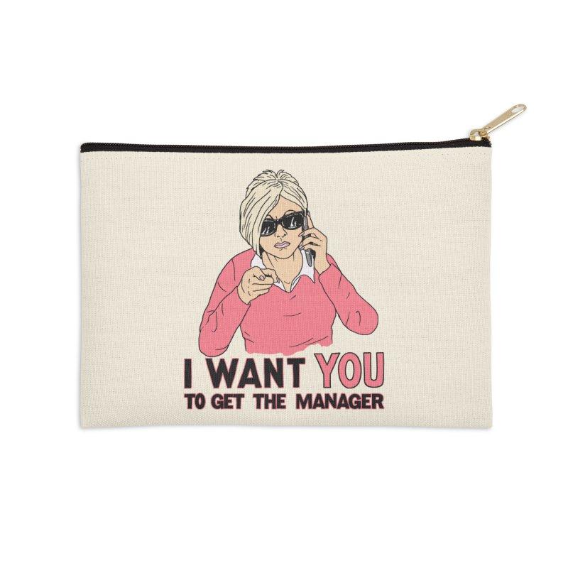 Aunt Karen Accessories Zip Pouch by Hillary White