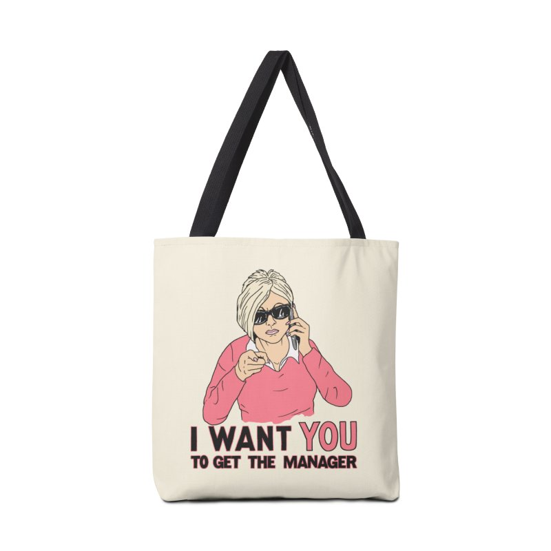 Aunt Karen Accessories Tote Bag Bag by Hillary White
