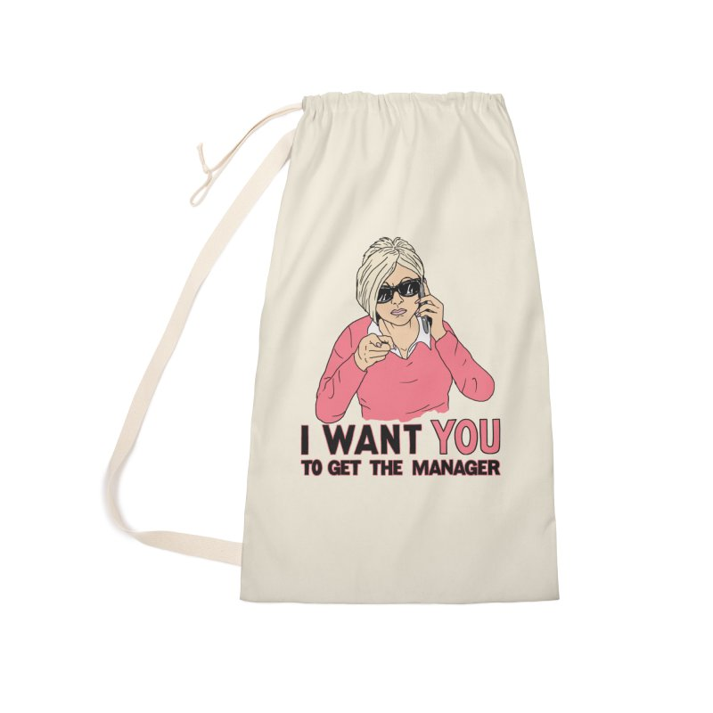 Aunt Karen Accessories Laundry Bag Bag by Hillary White