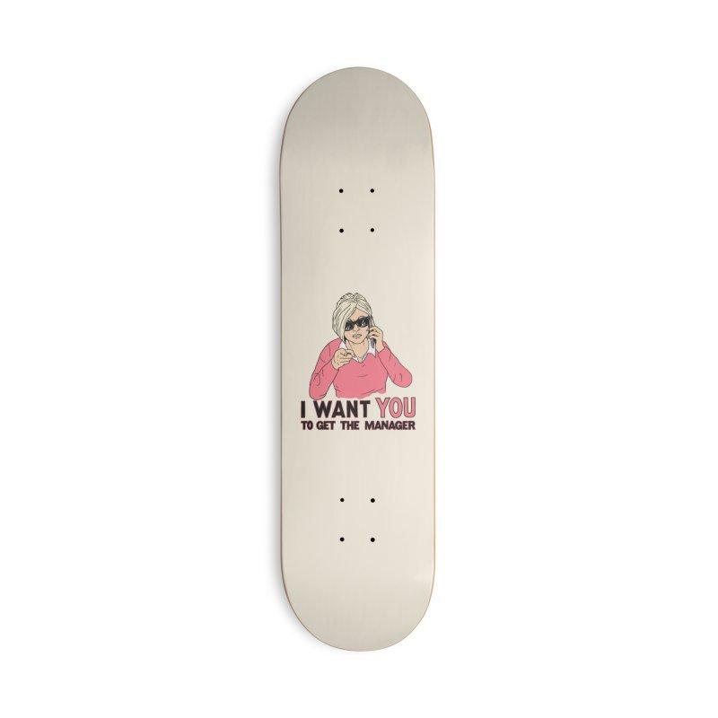 Aunt Karen Accessories Deck Only Skateboard by Hillary White