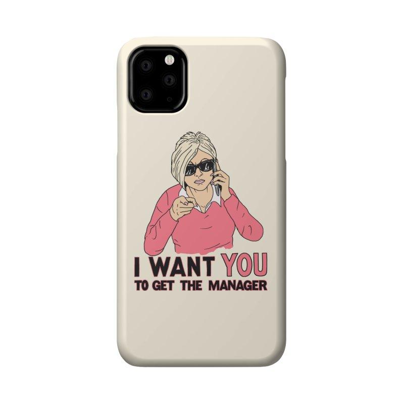 Aunt Karen Accessories Phone Case by Hillary White