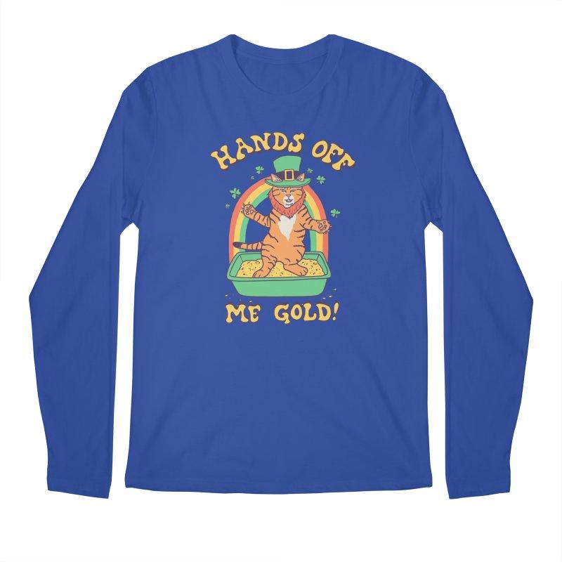 Box Of Gold Men's Regular Longsleeve T-Shirt by Hillary White