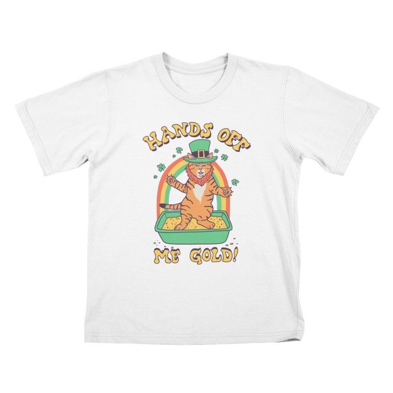 Box Of Gold Kids T-Shirt by Hillary White