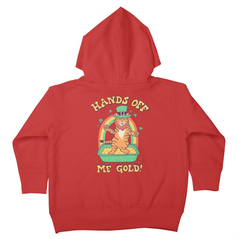 Box Of Gold Kids Toddler Zip-Up Hoody by Hillary White