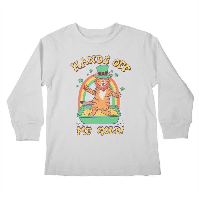 Box Of Gold Kids Longsleeve T-Shirt by Hillary White