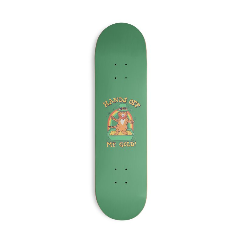Box Of Gold Accessories Deck Only Skateboard by Hillary White
