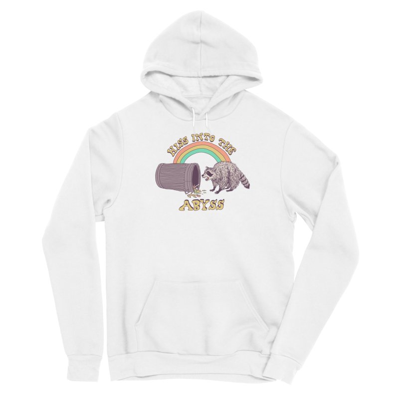 Hiss Into The Abyss Men's Sponge Fleece Pullover Hoody by Hillary White