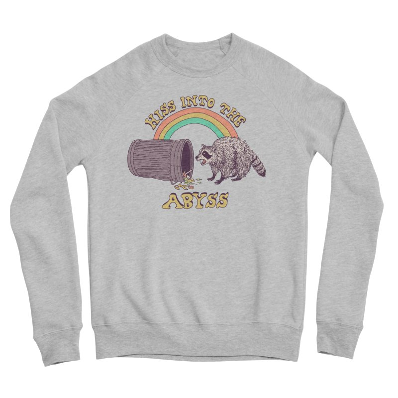 Hiss Into The Abyss Men's Sponge Fleece Sweatshirt by Hillary White