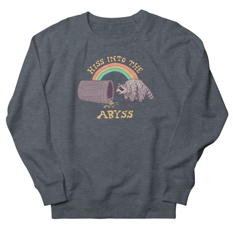 Hiss Into The Abyss Women's French Terry Sweatshirt by Hillary White
