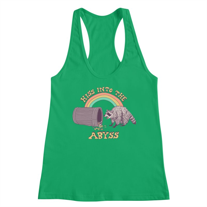 Hiss Into The Abyss Women's Racerback Tank by Hillary White