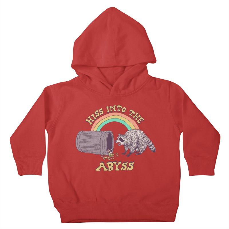 Hiss Into The Abyss Kids Toddler Pullover Hoody by Hillary White