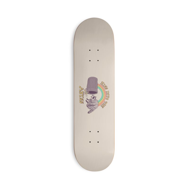 Hiss Into The Abyss Accessories Deck Only Skateboard by Hillary White