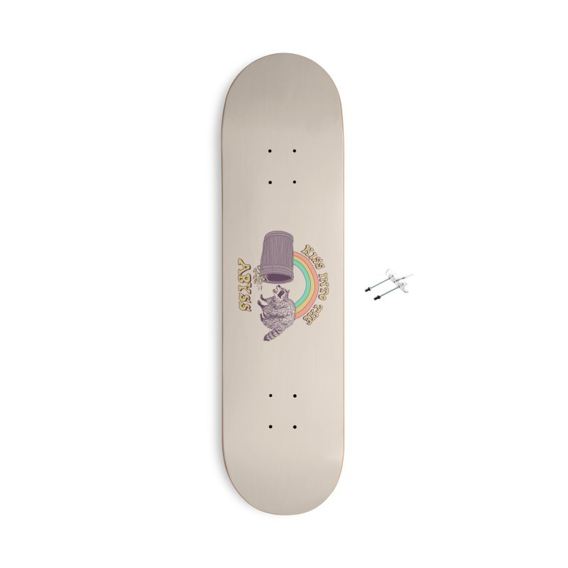 Hiss Into The Abyss Accessories With Hanging Hardware Skateboard by Hillary White