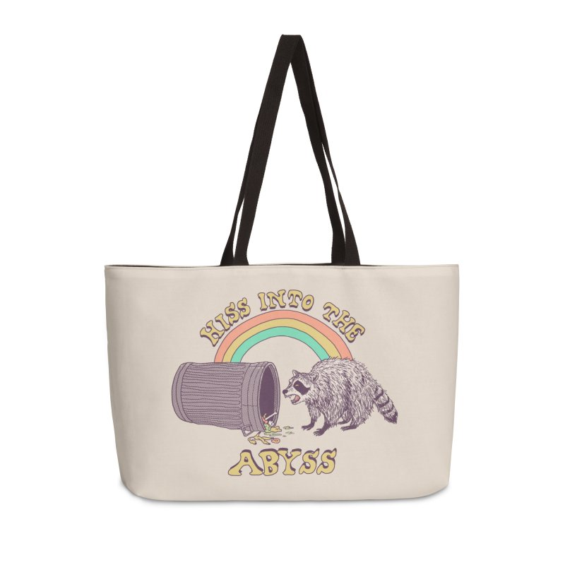 Hiss Into The Abyss Accessories Weekender Bag Bag by Hillary White