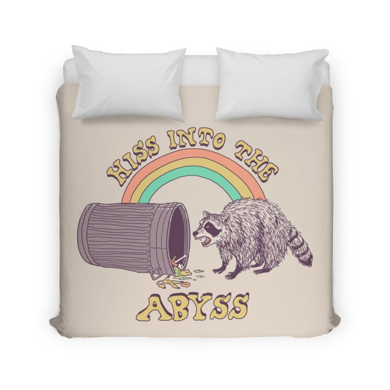 Hiss Into The Abyss Home Duvet by Hillary White