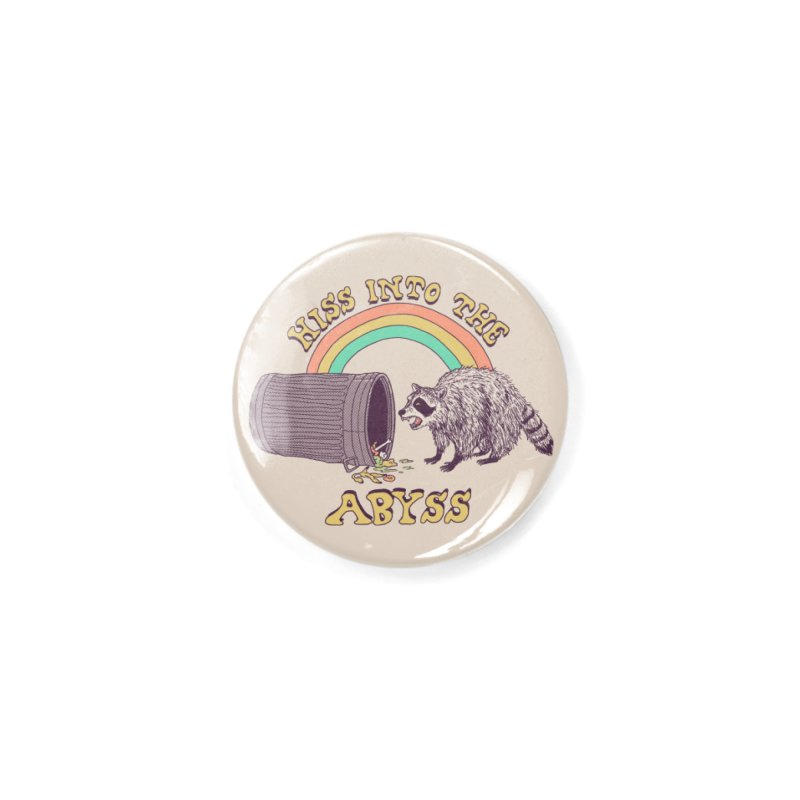 Hiss Into The Abyss Accessories Button by Hillary White