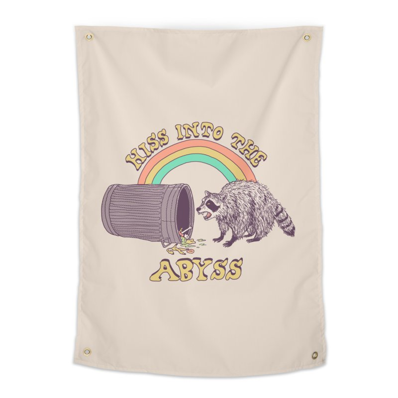 Hiss Into The Abyss Home Tapestry by Hillary White