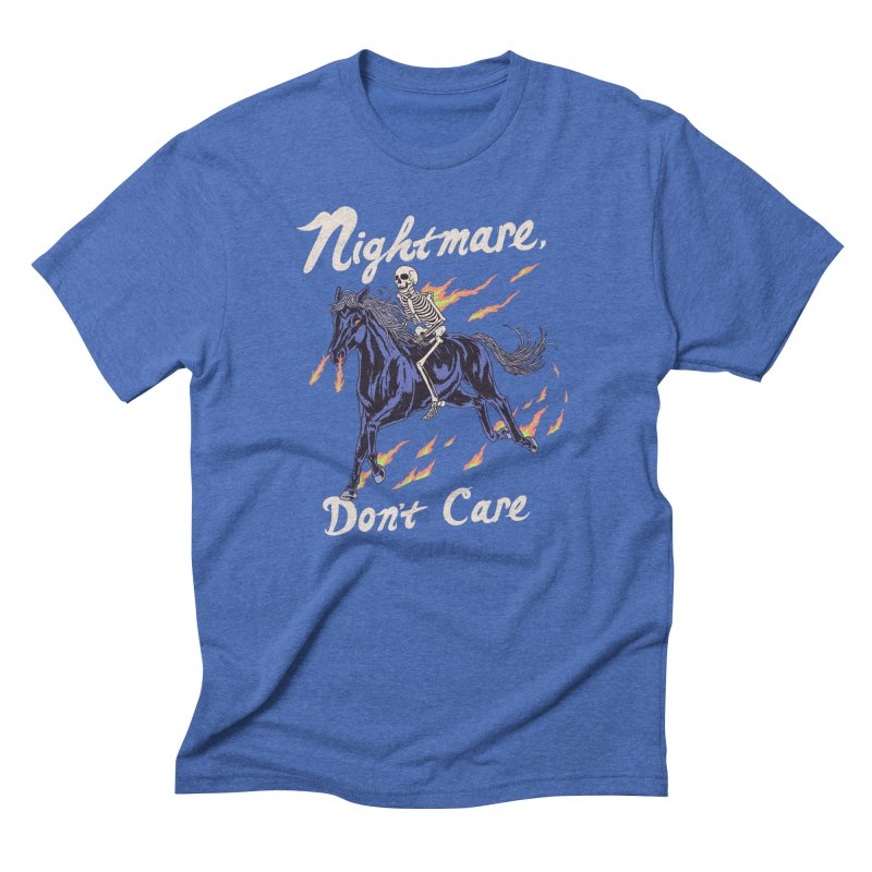 Nightmare, Don't Care Men's Triblend T-Shirt by Hillary White