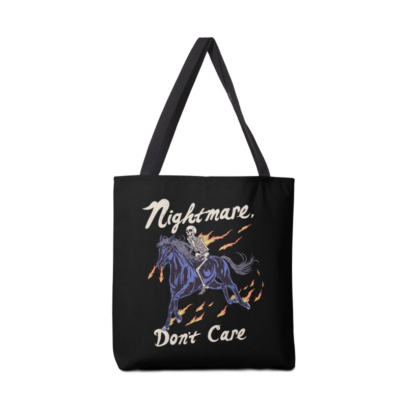 Nightmare, Don't Care Accessories Tote Bag Bag by Hillary White